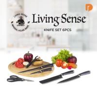 Living Sense Knife Set 6 Pcs ORIGINAL