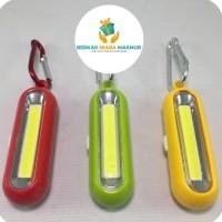 Gantungan Kunci Flashlight Mini LED