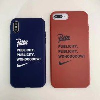 Patta Nike Soft Case for Iphone X XR XSmax 6 6 7 7 8 8 Apple Casing Co