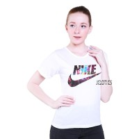 Kaos Wanita Tumblr Tee Lengan Pendek Nike Galaxy - Puti Harga Promo