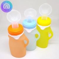 Botol Feeding Bayi - Squeezable Bottle Babyqlo - Baby Food Pouch