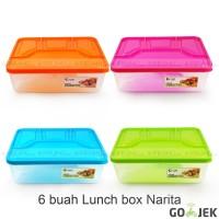 GOJEK Lunch Box - Kotak Bekal - Suvenir Ultah - Souvenir Ultah Narita