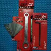 Kunci Stel Klep Motor Set - Kunci Stelan Klep Paket 4 Pcs Grip On