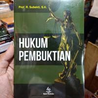 HUKUM PEMBUKTIAN by prof subekti SH