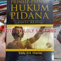 PRINSIP-PRINSIP HUKUM PIDANA EDISI REVISI