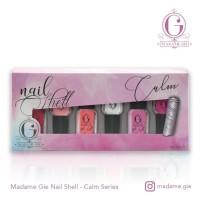 Promo Madame Gie N-Shell Peel Off Set (Isi 6 botol) Diskon