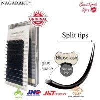 ELLIPSE Nagaraku Super Soft 9/10/11/12/13/14 Ellipse lashes bulu mata