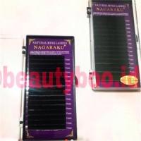 Nagaraku Eyelash Extension Single Size / 1 BOX 1 UKURAN PANJANG Diskon