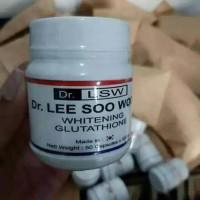 PEMUTIH KULIT BADAN/WAJAH TERCEPAT DR LSW WHITENING GLUTATHIONE Murah