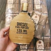 Parfum Original Diesel Fuel For Life 125ml For Man Reject No Box Murah