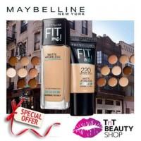 Maybelline Fit Me Matte + Poreless Foundation 30ml Botol | Tube 18 ml