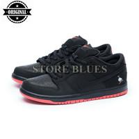 Sepatu Nike Low SB Dunk x Staple Pigeon Black Red Perfect Kick