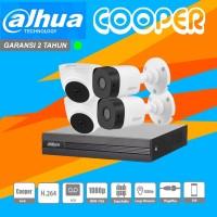 Paket CCTV Dahua Cooper 2mp 4Channel