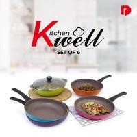 Kitchen Well Cookware Set 6
