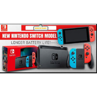 Nintendo Switch Neon New model With longer battery life HAC-001(-01)