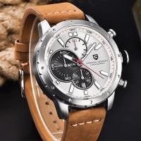 Jam Tangan Pagani Design Luxury Chronograph Sport Quartz Black