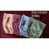Ciput arab polos semi premium warna part 1