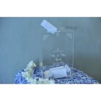 Kotak Amplop Pernikahan Akrilik/ Box Amplop