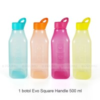 Botol Evo Square Handle 500ml - Botol Minum Anak - Suvenir Ultah