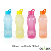 Gojek Evo Handle 500 ml - Botol Minum Plastik - Souvenir Ultah Anak
