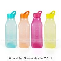 Grosir Botol Evo Square Handle 500ml - Botol Minum Anak - Souvenir
