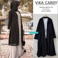 Baju Vika Cardy Outwear Muslim Wanita Cardigan Muslim Murah Terbaru