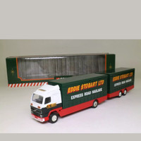 Corgi Superhaulers; Volvo FH 1:64 Scale; Rigid Truck & Trailer; Eddie