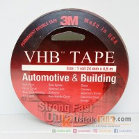 3M VHB TAPE PERMANENT DOUBLE TAPE 24MM X 4,5 METER