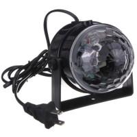 Lampu LED Model Bola Kristal Ajaib Warna RGB 3W - S7