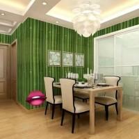 Jual Wallpaper Dinding Murah Kamar Tidur Bambu 3d Hijau Terlaris Termurah Jakarta Selatan Serbasukses Store Tokopedia