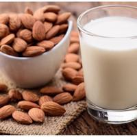 Almond Milk - Almond untuk Susu Almond (termasuk SARINGAN)