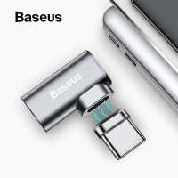 BASEUS ELBOW MAGNETIC USB TYPE C CONVERTER KABEL MACBOOK PRO LAPTOP