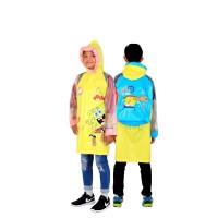 Jas hujan Anak Coat Motif Spongebob - 68401