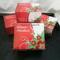 Box kue/kotak kue/dus snack/Box makanan/DUS MJA GS 12X14 @100PC