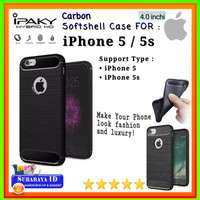 "Casing SoftCase iPaky iPhone 5/5s (4.0"") 