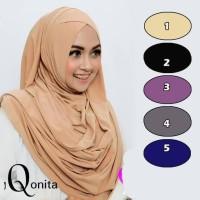 Promo Jilbab Instan Qonita Bahan Jersey Instant Hijab Terlaris