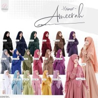 Hot Produk Khimar Jilbab Instan Ceruty Baby Doll 2 Layer Ameerah By