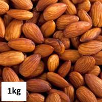 Kacang Almond Panggang rasa Natural 1kg / Roasted Almond Natural