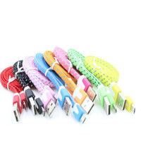 Kabel data Tali Sepatu 1m (Woven) ⠀⠀⠀⠀
