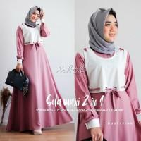 Pakaian Hijab Wanita Baju Gamis Dress Pakaian Hijab Wanita Murah SD1