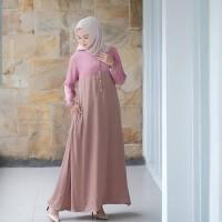Baju Maxy Dress Wanita Baju Gamis Murah Baju Gamis Wanita Terbaru AD5