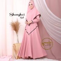 Shanghai Syari Set Khimar Baju Gamis Terbaru By ALEXANDRIAH