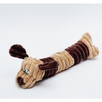 Squeaky Plush Dog Toy Dog Design | Mainan Anjing