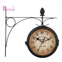 Jam Retro Dekorasi Ornamen Ruang Tamu Jam Dinding