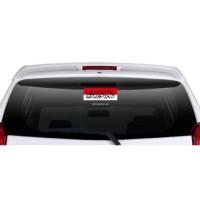 Stiker Cutting kalimat tauhid dan Bendera Merah Putih Stiker Mobil