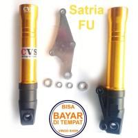 Tabung Shock Depan CNC Satria FU Karbulator