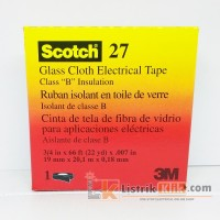 3M Scotch 27 Glass Cloth Electrical Tape