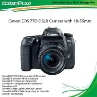 Canon EOS 77D DSLR Camera with 18-55mm Kamera Canon DSLR
