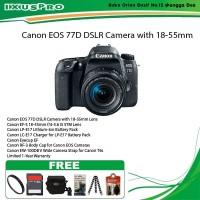 CANON EOS 77D KIT 18-55MM IS STM PAKET Hemat Kamera Canon DSLR