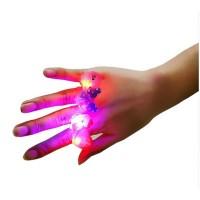 Cincin Kartun Lampu LED Mainan Anak
